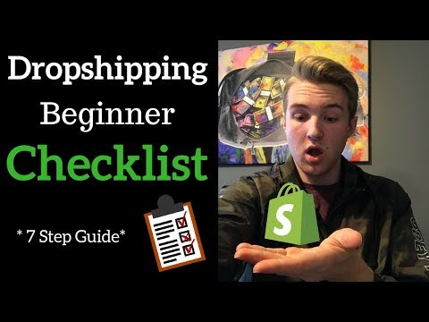 What You Need To Start Dropshipping (Beginner Checklist)