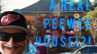PEE-WEE HOUSE iN REAL LiFE? + ABANDONED UPDATE- FOSTER'S FREEZE