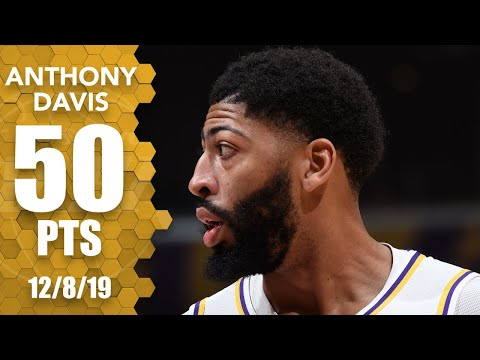 Anthony Davis scores season-high 50 points in Lakers vs. Timberwolves | 2019-20 NBA Highlights