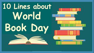 World Book Day 📚    World Book day and Copyright Day    WBC 2020    10 lines about World book day