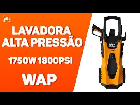 Lavadora de Alta Pressão 1750W 1800PSI  - Video