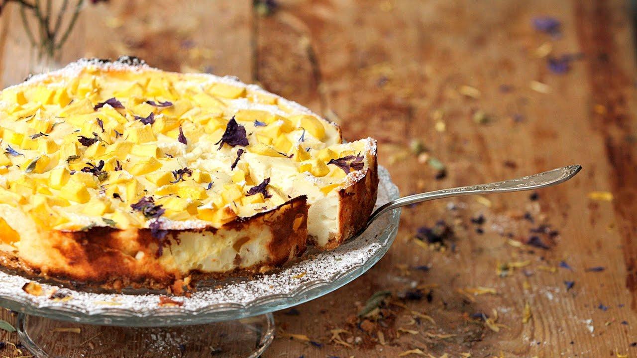 Cheesecake à la mangue - Recette sans gluten - Schär