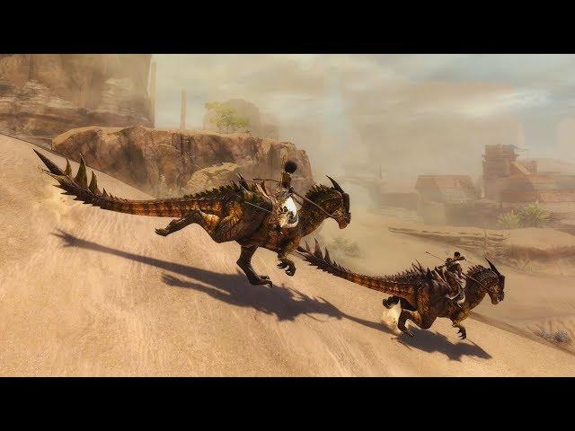 Diario de desarrollo de Guild Wars 2: Path of Fire: monturas