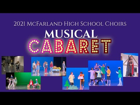 2021 McFarland Choir Program/Musical Cabaret Image