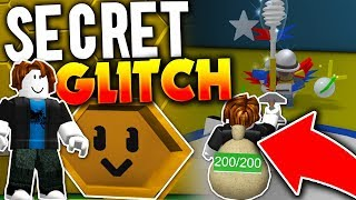 HOW TO *GLITCH* INTO THE LEVEL 30 SECTION!! (SECRET) - Roblox Bee Swarm Simulator