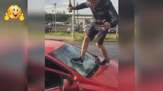 ЛУЧШИЕ АВТОПРИКОЛЫ 2018  Car fails  Funny. Часть 1