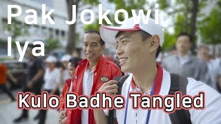 Orang Korea tanya pak Jokowi pakai bahasa JAWA!!