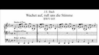"Video thumbnail of ""J.S. Bach - BWV 645 - Wachet auf, ruft uns die Stimme"""