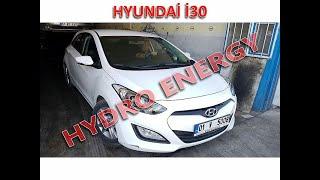 Hyundai İ30 hidrojen yakıt sistem montajı