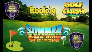Golf Clash tips, Hole 3 - Par 5, Summer Major Tournament - Porthello Cove! Rookie - GUIDE/TUTORIAL