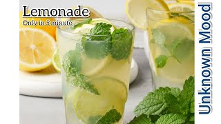 Lemonade | Nimbu pani | Summer Specials | Unknown Mood