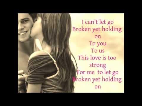 Roni Tran  Broken yet holding on♥ Lyrics