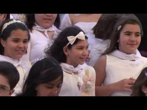 Catequese de Tomar  - Primeira Comunhão 2013 Celebrada pelo Sr. Padre Mário Duarte