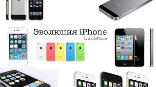 Эволюция IPhone от IPhone 2G до IPhone 6 и IPhone 6 Plus (+слоганы)