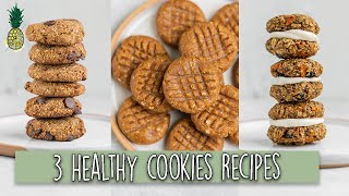 3 Healthy Vegan Cookie Recipes (That Dont Suck) 😉