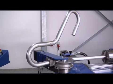 JUTEC Biegesystem 5000 -- Die wirtschaftliche Biegemaschine für enge Biegeradien
