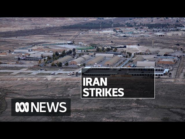Iran 'revenge' operation sees US bases attacked with 'ballistic missiles' | ABC News