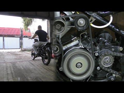 Тесла Мотоцикл своими руками 2 Серия! Стиралка INdesit+ЗиД 50 Пилот)
