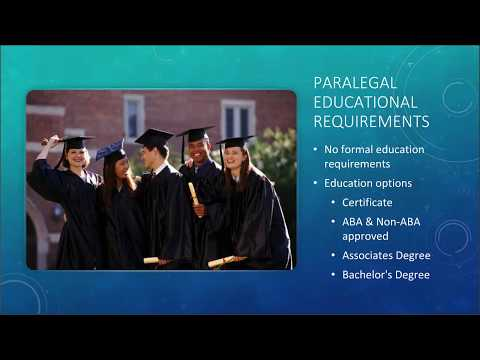 The History & Future of the Paralegal Profession