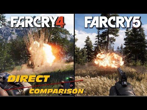 Far Cry 4 vs Far Cry 5   Direct Comparison
