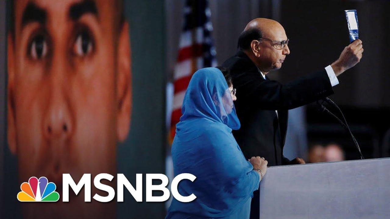 Khizr And Ghazala Khan, Parents Of Slain Muslim Soldier, Reflect On 2016 | MSNBC thumbnail