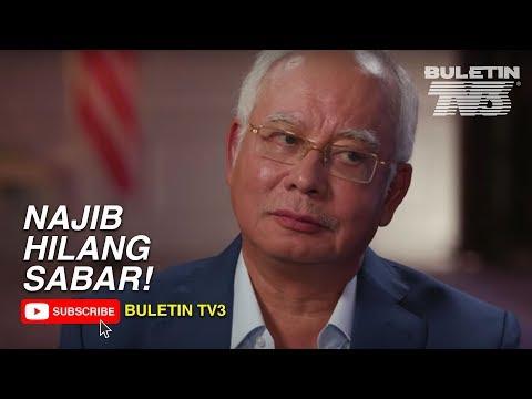 Najib Hilang Sabar Dalam Wawancara Al-Jazeera