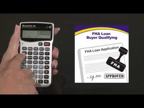 Qualifier Plus IIIfx - Buyer Qualifying FHA Loan
