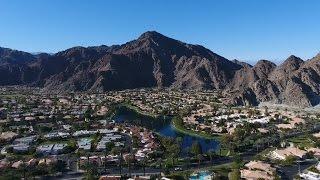 Drone Flying near Palm Springs, California - DJI Phantom 4K