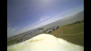XK X450 FPV flight with SF Bay view