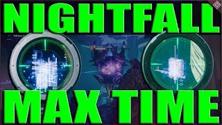 Destiny 2 Max Nightfall Time Glitch, Savathun's Song Cheese! Anomalies Cheese