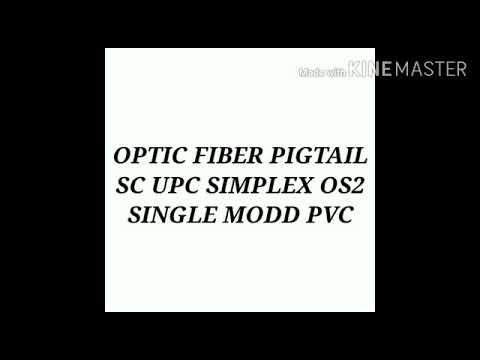 Fiber Pigtails Single-Mode Simplex Pigtail 1 Mtr
