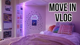COLLEGE MOVE IN VLOG | Florida State University (Dorman Hall)