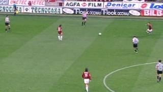 Милан - Ювентус (чемпионат Италии 1996-1997, 26-й тур). Русский комментатор