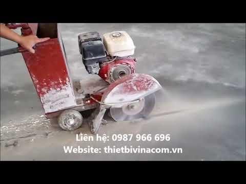 Máy cắt đường bê tông