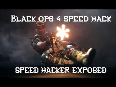 HACKER ON PS4!Call of Duty: Black Ops 4 SPEEDHACK - смотреть
