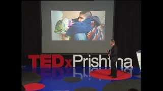 Një Kapak, Një Shpresë: Kushtrim Ahmeti At TEDxPrishtina