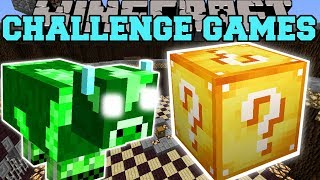Minecraft: EXPLODA COW CHALLENGE GAMES - Lucky Block Mod - Modded Mini-Game