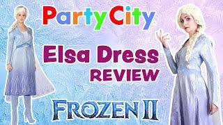 Elsa Costume Review: Party Citys Frozen 2 Act II Adult Elsa Dress