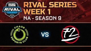 Rival Series NA Week 1 - Chaos Esports Club vs 72 Pin Connector