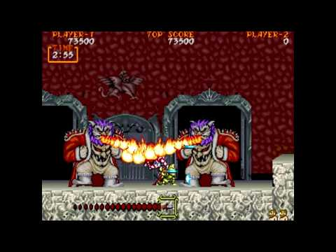 Ghouls N Ghosts - Arcade - Hardest Difficulty - One Credit Clear