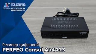 Ресивер цифровой PERFEO DVB-T2/C CONSUL A4413