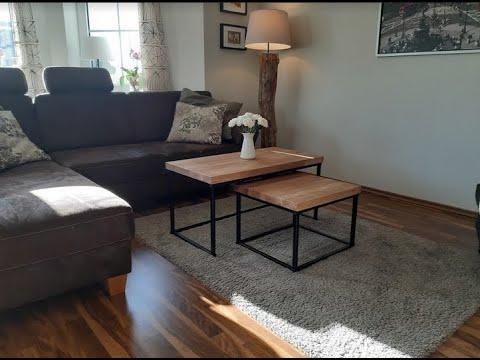 DIY Satztisch - Bau dir deinen Couchtisch fürs Wohnzimmer