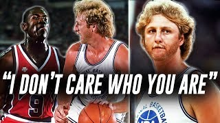 Larry Bird Trash Talking Michael Jordan And It Backfired Just 2 Years Later... STORY!
