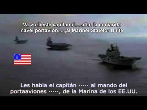 Grabacion secreta enfrentamiento entre la Marina española y la Marina EEUU