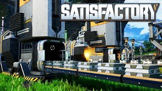 Satisfactory - Beautiful Automation in an Open World Factory Game (Satisfactory Alpha Gameplay)