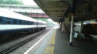 preview picture of video 'South West Trains at Weybridge Station, Surrey'