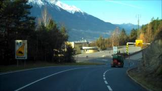 preview picture of video 'Road to Innsbruck : Over the Alps part three'