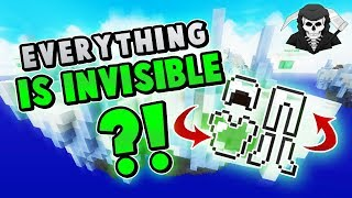 THE INVISIBLE HEARTS/ARMOR/CHEST CHALLENGE! ( Hypixel Bed Wars )