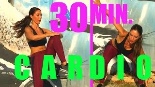 Slim Waist & Abs Exercises | 30 Minute Cardio Workout by Susana Yábar
