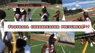 Football Cheer Pictures / Game Vlog 🎀🏈